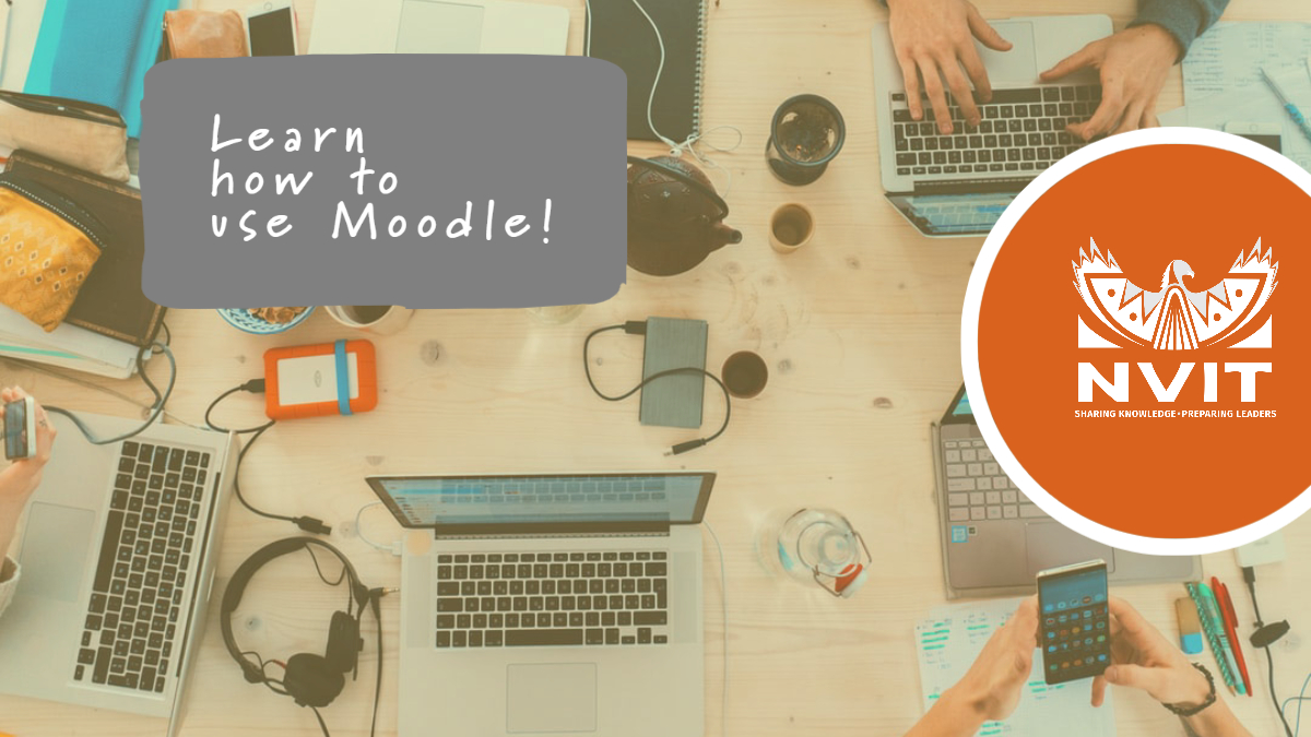 Learn to use Moodle!